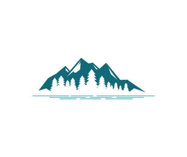 Mountain icon This illustration/vector you can use for any purpose related to your business. mountains stock illustrations
