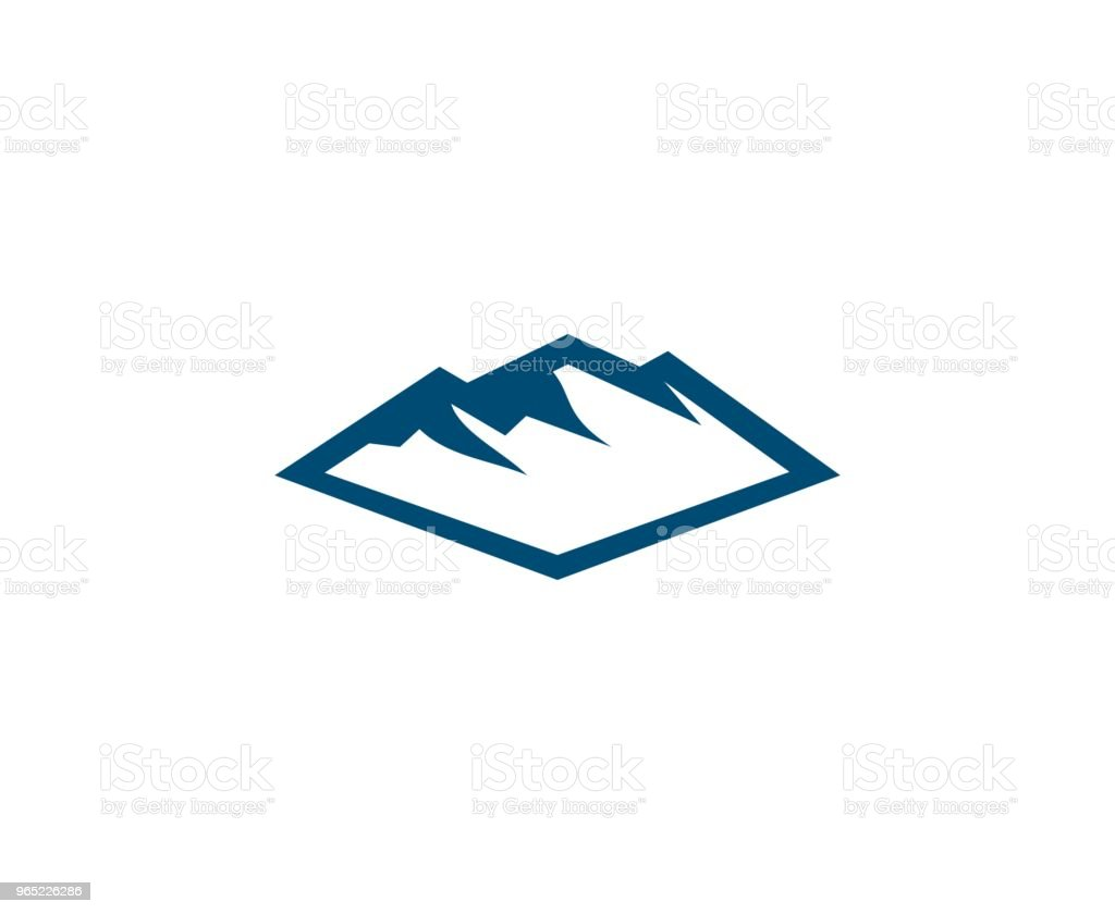 Mountain icon royalty-free mountain icon stock vector art & more images of abstract