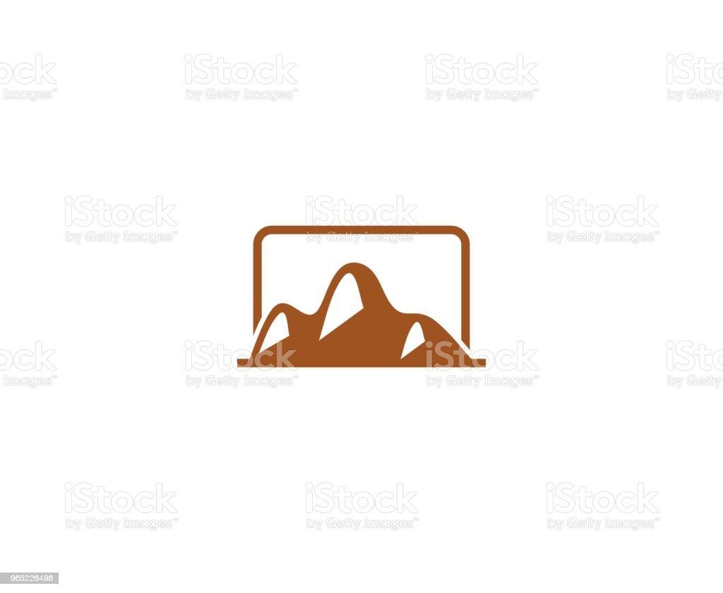 Mountain icon mountain icon - stockowe grafiki wektorowe i więcej obrazów abstrakcja royalty-free