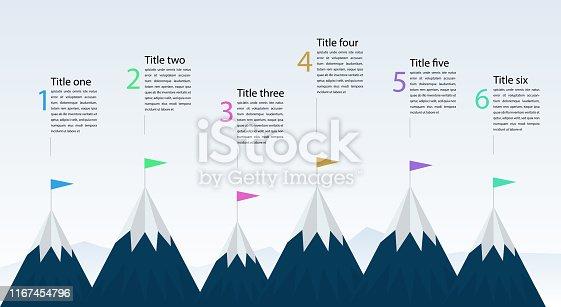 mountain infographics