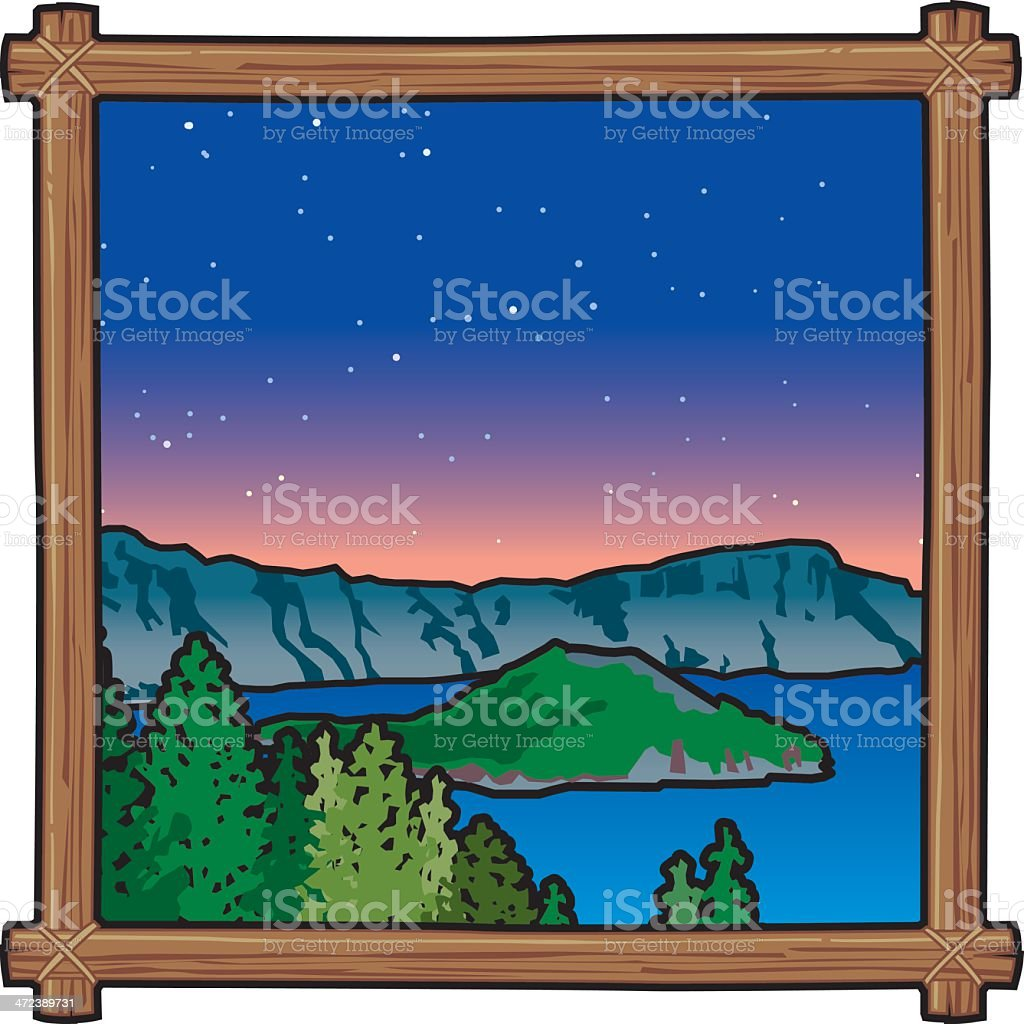 royalty free crater lake clip art vector images illustrations rh istockphoto com lake clipart public domain lake clipart background