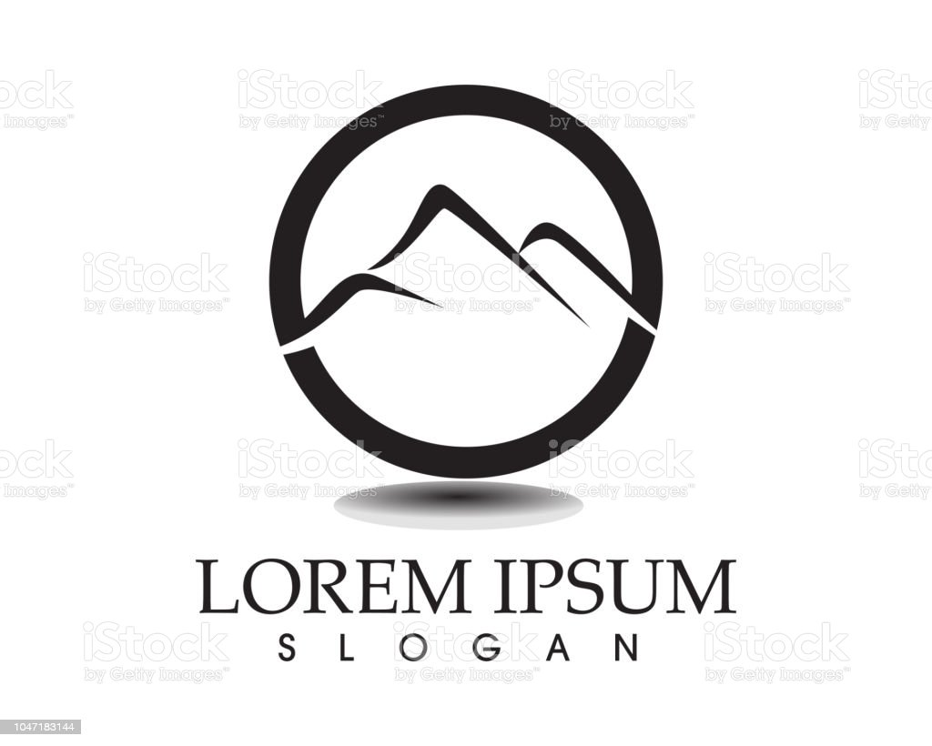 Mountain Logo And Symbol Stock Illustration - Download Image Now