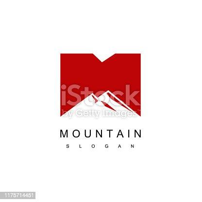 Mountain Icon Design Vector