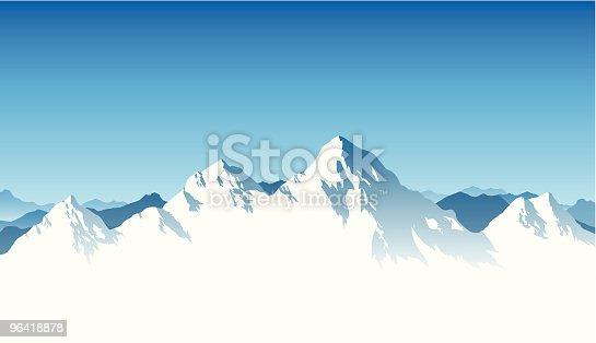 istock Mountain Range Background 96418878