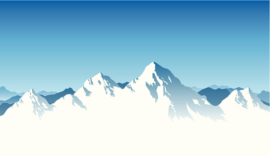 Mountain Range Background clipart