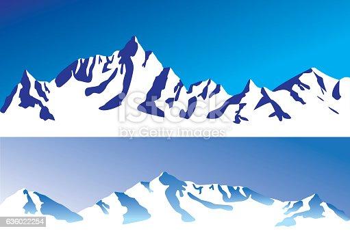 istock Mountain range 636022254