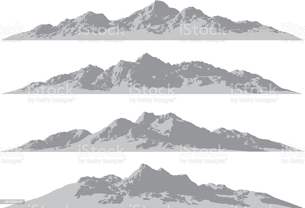 Mountain ranges royalty-free mountain ranges stock vector art & more images of asia