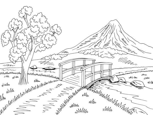 Royalty Free Riverbank Clip Art, Vector Images
