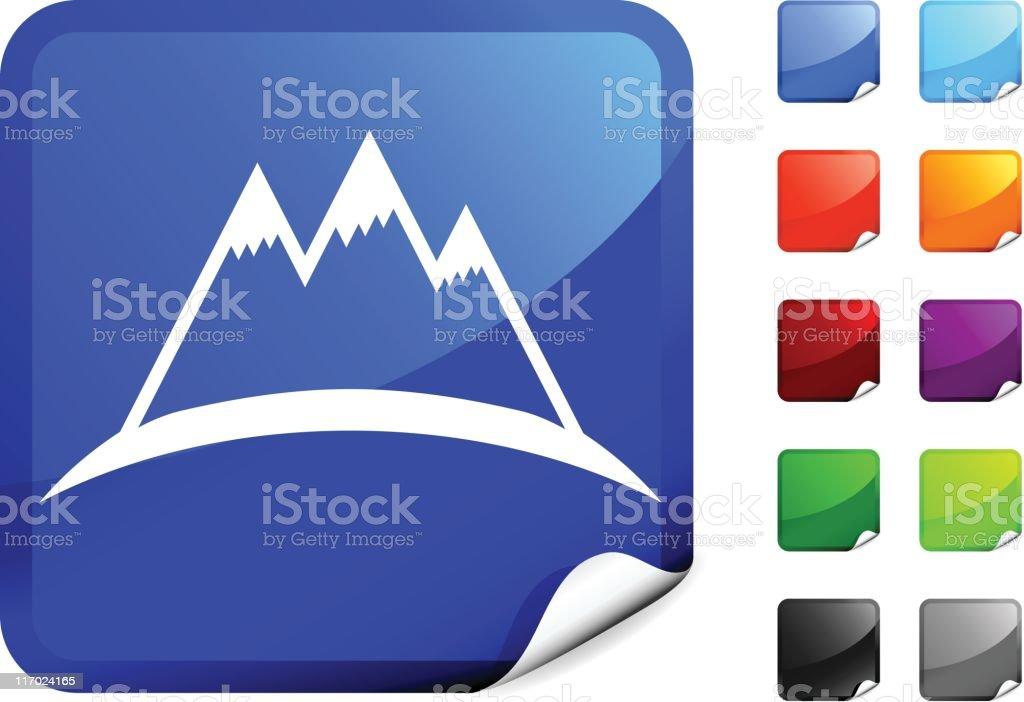 mountain silhouette internet royalty free vector art royalty-free stock vector art