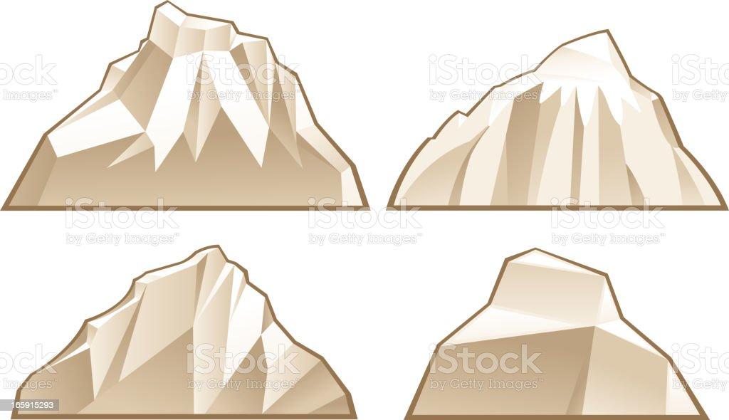 mountain symbols royalty-free stock vector art