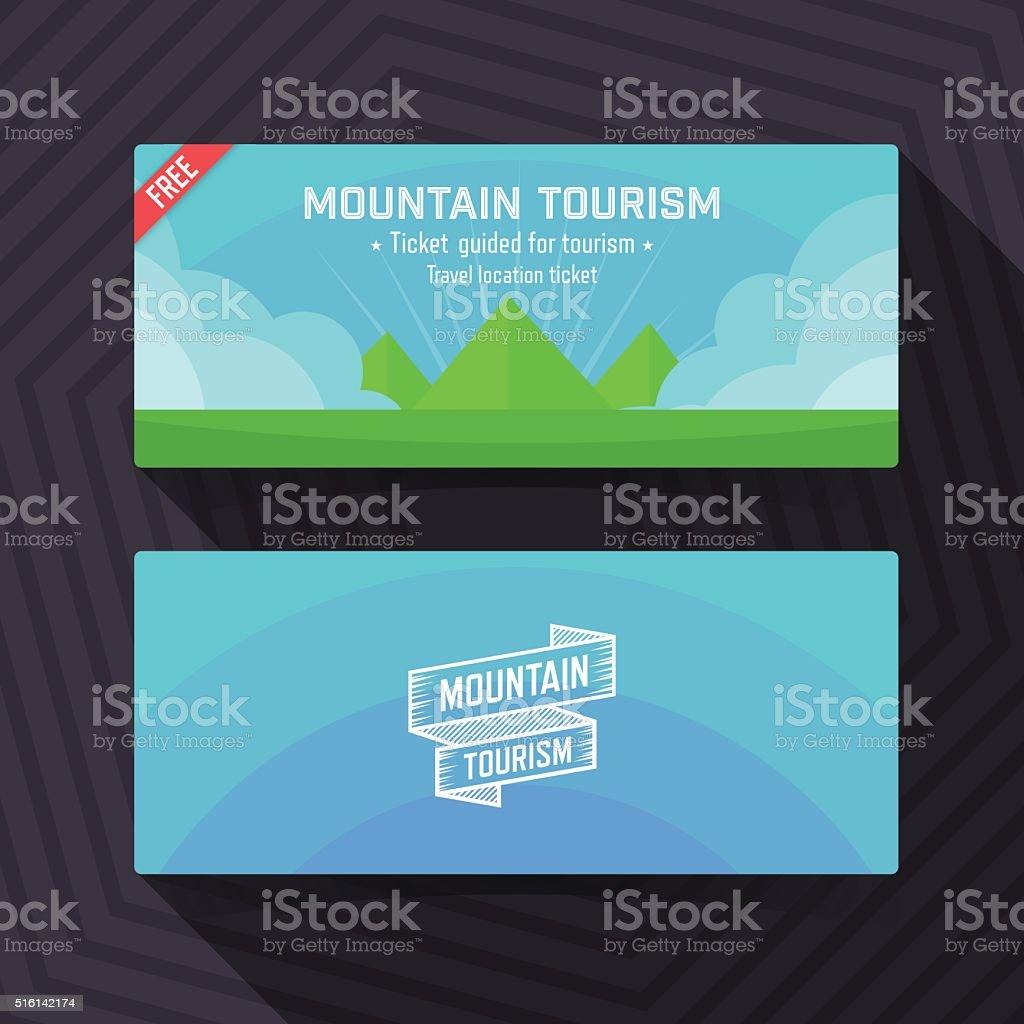 Banderole Escalade Signalisation Affaires Finance Et Industrie Touristique De La Montagne Modele Carte Visite