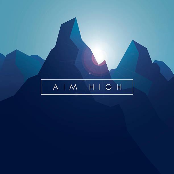 Top Mountain Peak Clip Art, Vector Graphics and ...