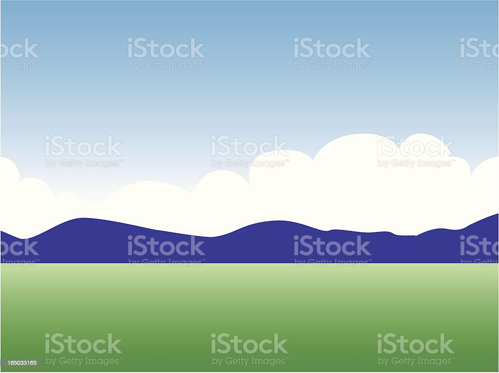 mountain view royalty-free mountain view stock vector art & more images of agriculture