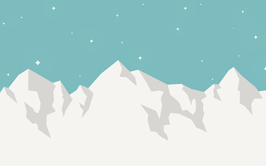 Mountain winter landscape background with space for your copy.