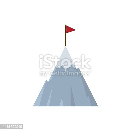 Rock - Object, India, Mountain, Success, Flag