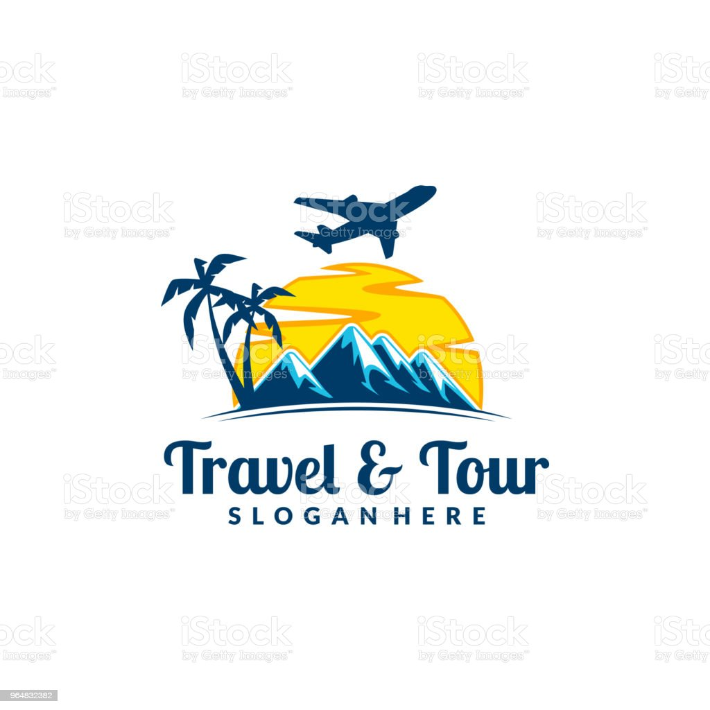 Mountain with Travel and Tour Symbol royalty-free mountain with travel and tour symbol stock vector art & more images of adventure