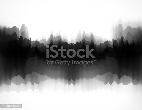 istock mountains and waters painting pattern background 1089200682