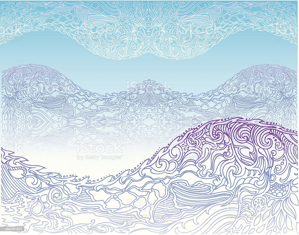 mountains royalty-free mountains stock vector art & more images of abstract