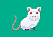 vector illustration of mouse character