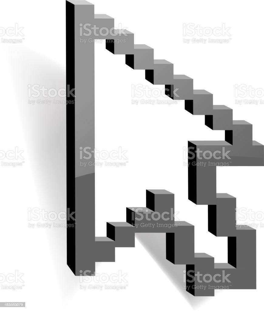 mouse cursor royalty-free stock vector art