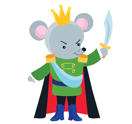 Mouse King from the ballet Nutcracker.