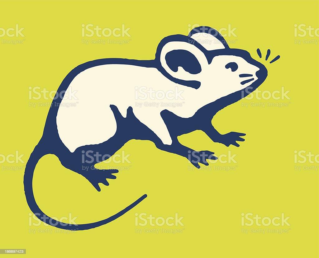 Mouse - 免版稅一隻動物圖庫向量圖形