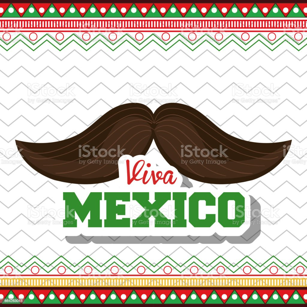 moustache viva mexico symbol graphic royalty-free moustache viva mexico symbol graphic stock vector art & more images of adult