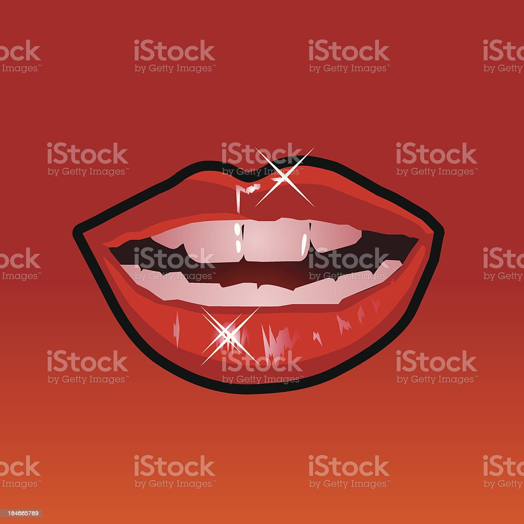 mouth illustration royalty-free stock vector art