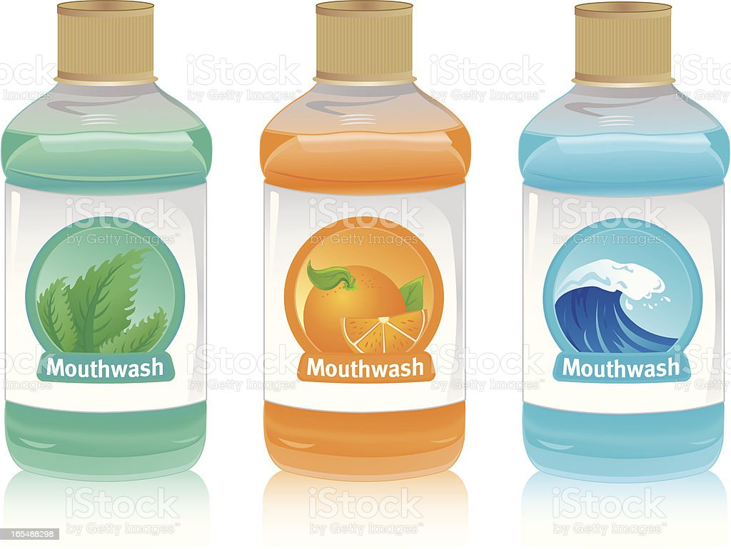 Mouthwash royalty-free mouthwash stock vector art & more images of bathroom