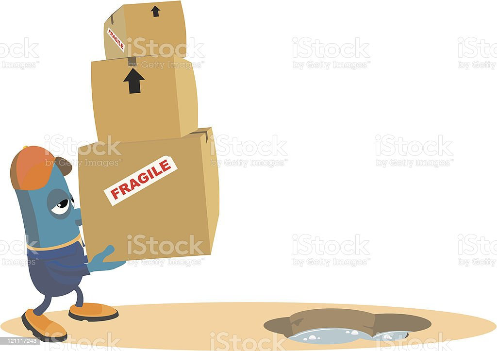 Movers Fate royalty-free stock vector art