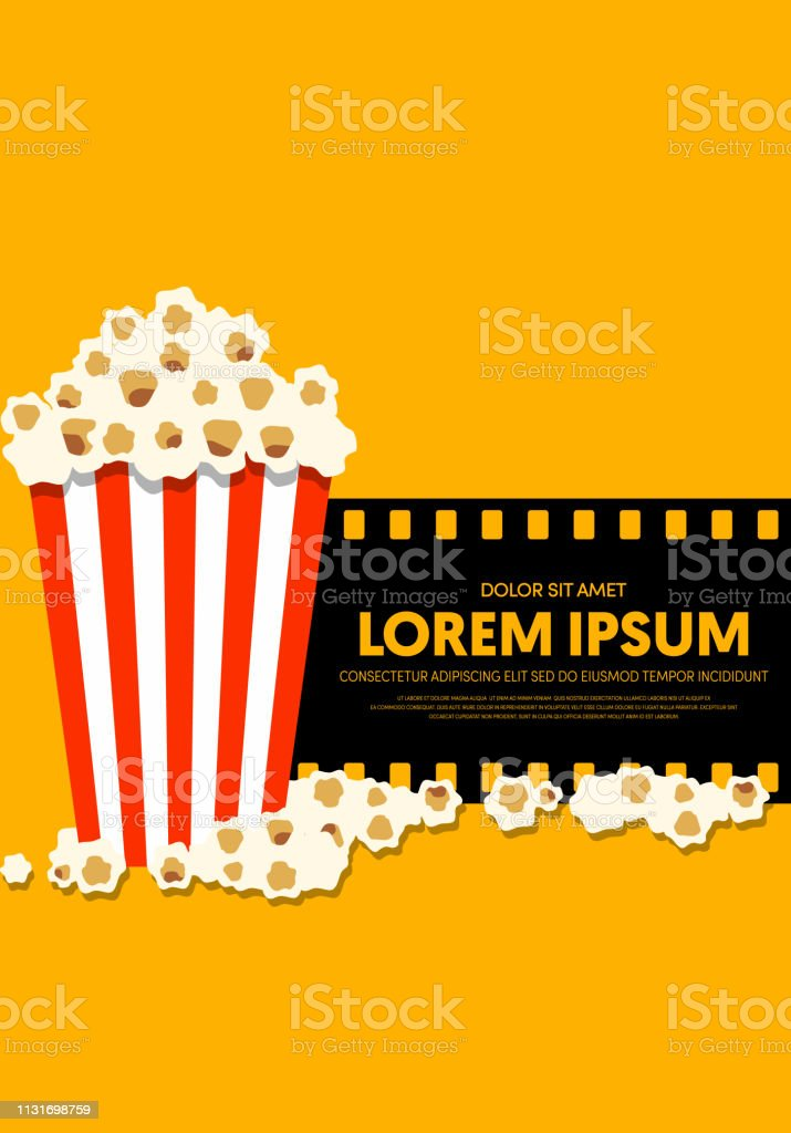 Movie And Film Poster Design Template Background Modern