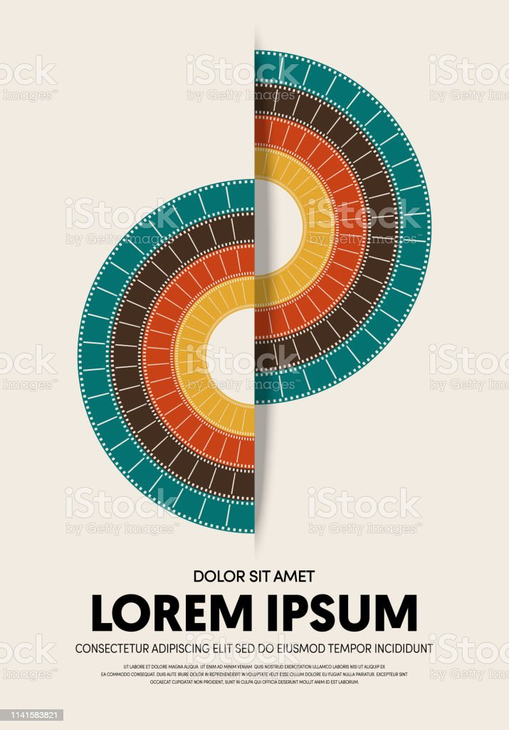 Movie And Film Poster Modern Vintage Retro Style Stock Illustration Download Image Now Istock