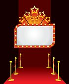 vector illustration to show display or announcement board for award  [url=http://www.istockphoto.com/file_search.php?action=file&lightboxID=7318998][img]http://i8.photobucket.com/albums/a32/simon2579/shbanner.jpg[/img][/url]
