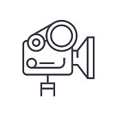 Free 35mm Film Motion Camera Clipart and Vector Graphics