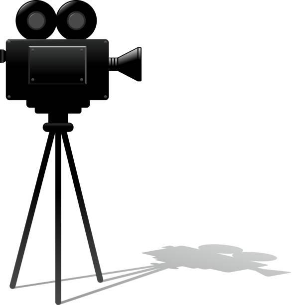 Best Movie Camera Filming Illustrations, Royalty-Free ...