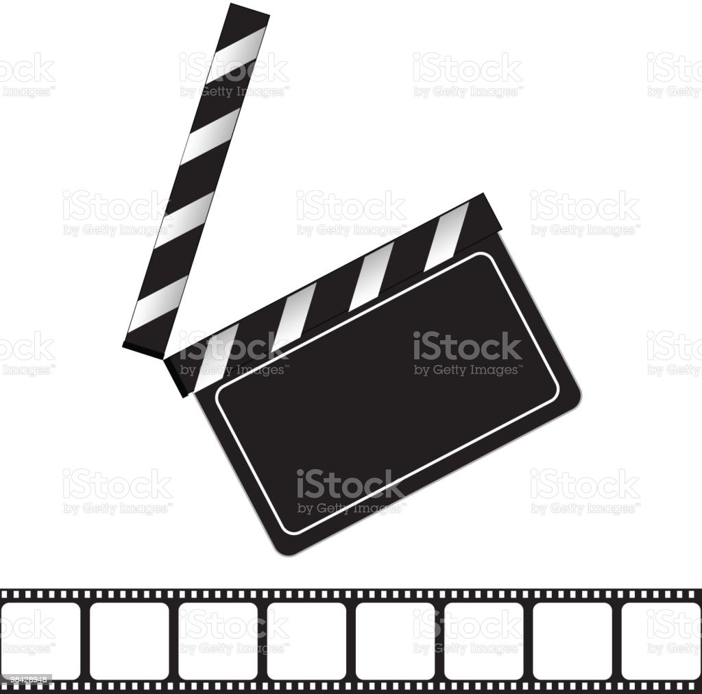 Movie clapper royalty-free movie clapper stock vector art & more images of accessibility