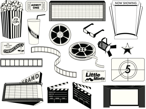 Movie Components BW