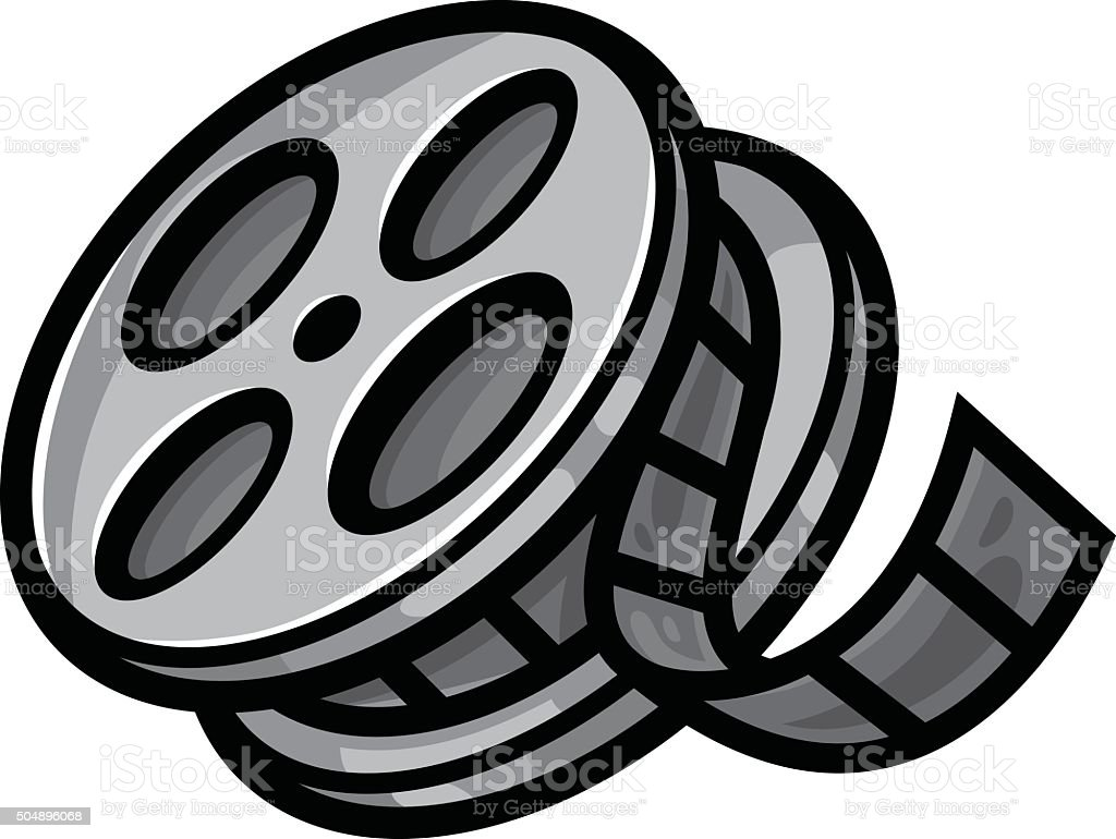 Movie Film Reel Stock Vector Art More Images Of Arts Culture And