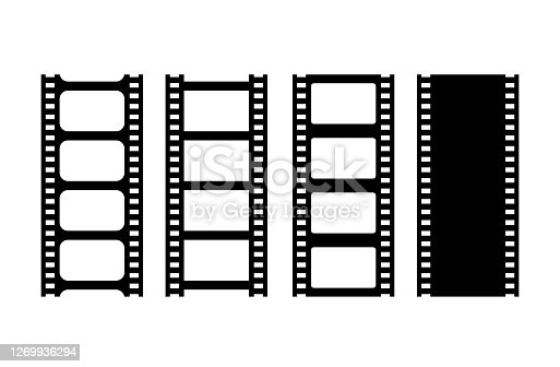 istock Movie film strip vector illustration 1269936294