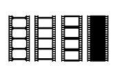 istock Movie film strip vector illustration 1269936294
