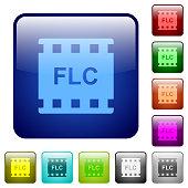 FLC movie format color square buttons