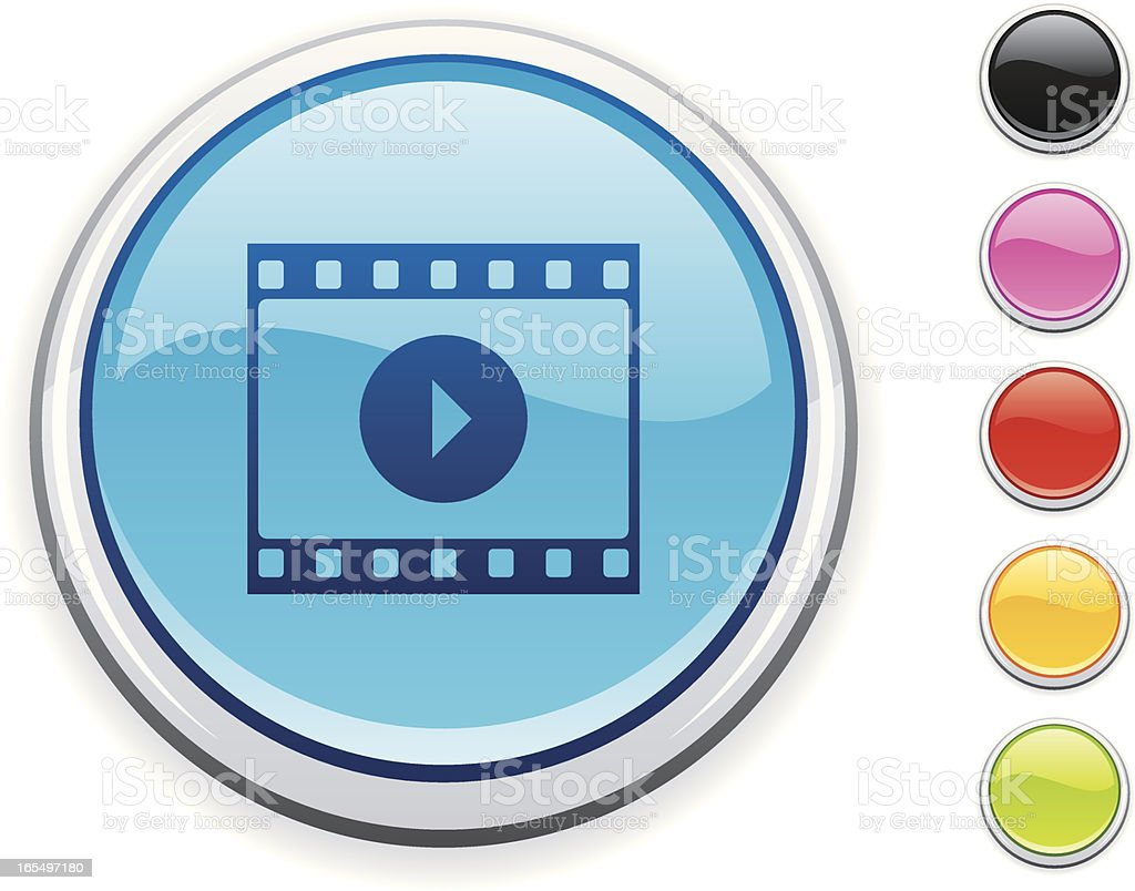 Movie icon royalty-free movie icon stock vector art & more images of arts culture and entertainment