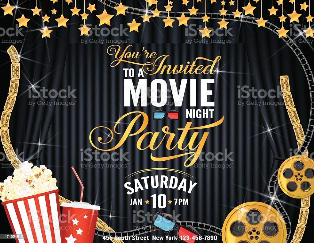 free movie invitation templates