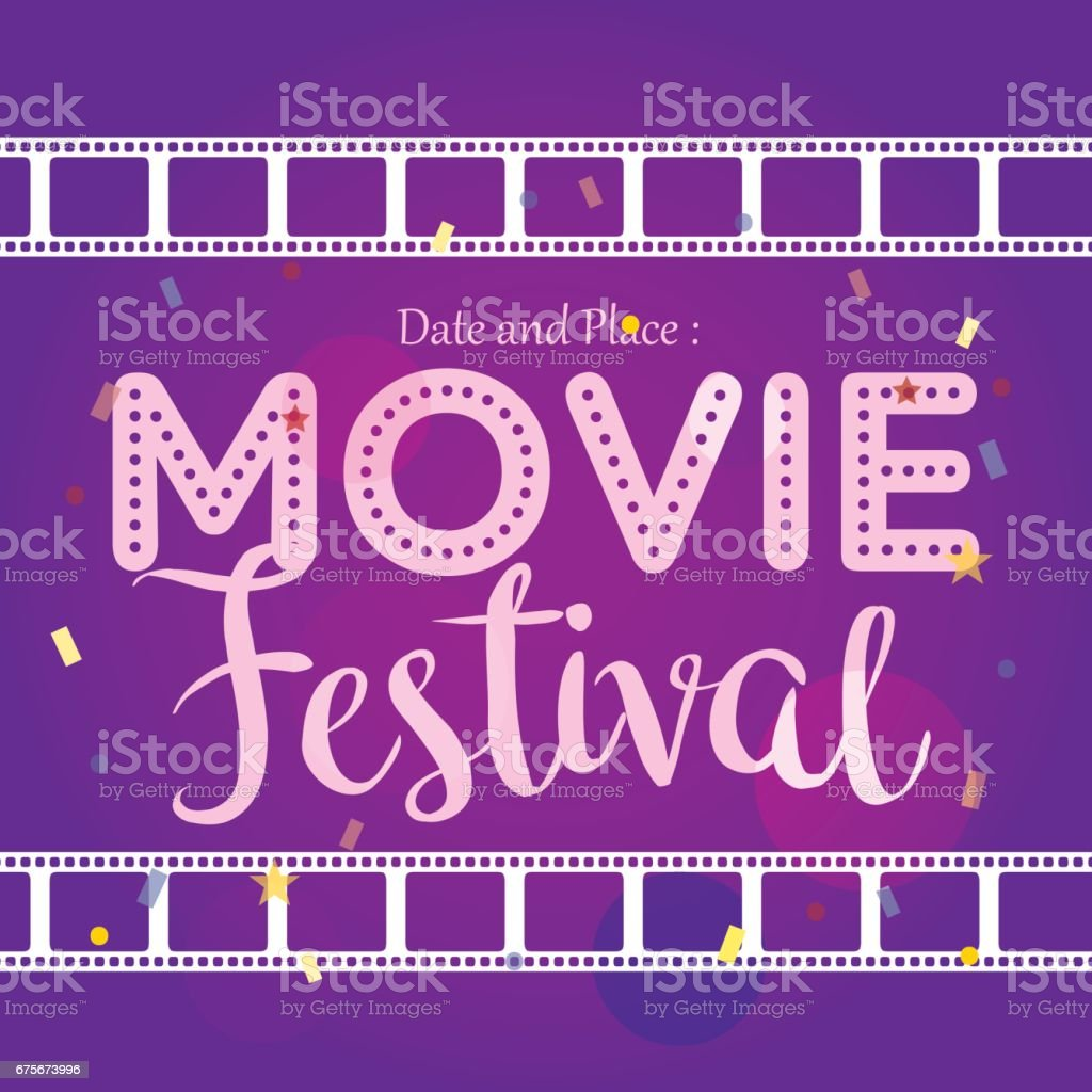Movie Poster Event For Festival Event Banner Brochure Flyer Template