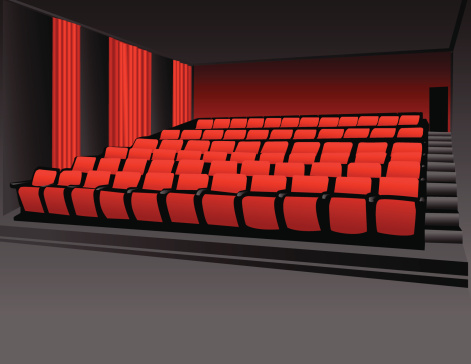 Movie Theater Stock Illustration - Download Image Now