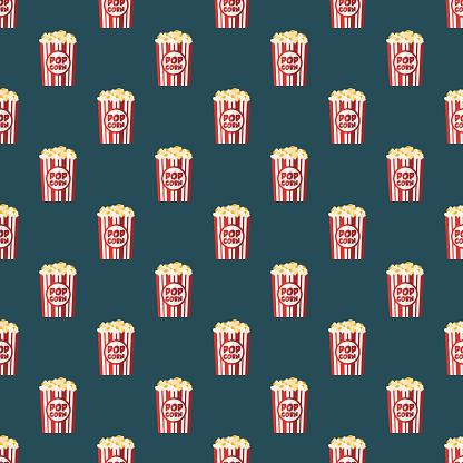 Movies Seamless Pattern