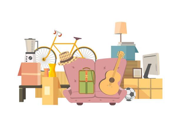 移動ボックス アイコン - 新居点のイラスト素材/クリップアート素材/マンガ素材/アイコン素材