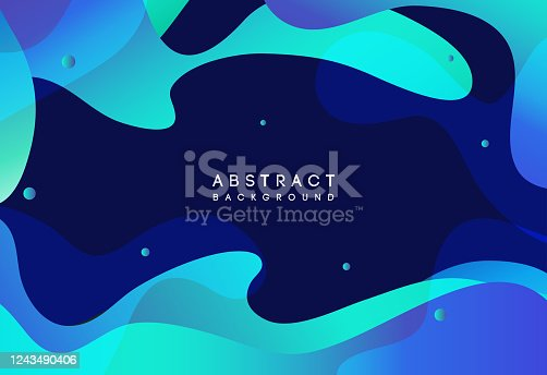 istock Moving colorful abstract background. Dynamic Effect. Vector Illustration. Design Template. 1243490406