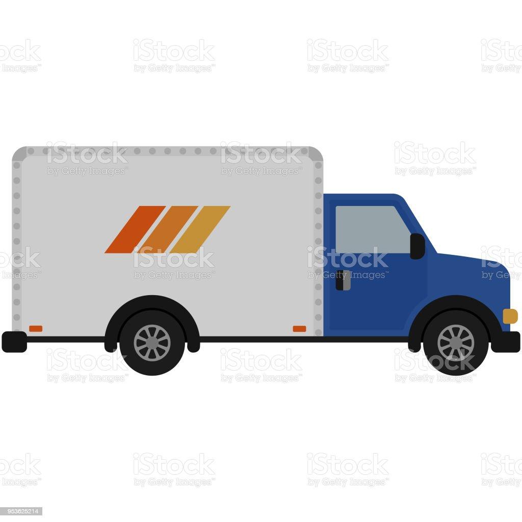 Ilustración de carro móvil - ilustración de arte vectorial