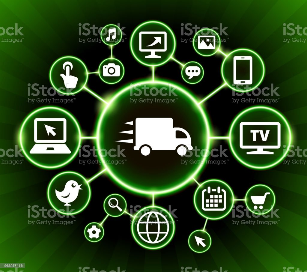 Moving  Truck Internet Communication Technology Dark Buttons Background royalty-free moving truck internet communication technology dark buttons background stock vector art & more images of backgrounds
